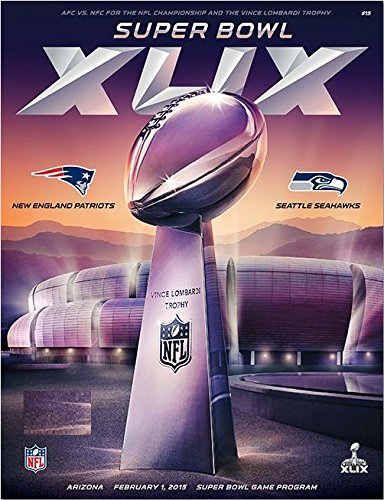 Official Super Bowl 49 XLIX 2015 Superbowl Game Program