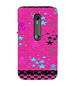 PrintVisa Emo Girl Cool Design 3D Hard Polycarbonate Designer Back Case Cover for Motorola Moto G3