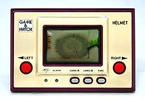 任天堂 Nintendo CN-07 ヘルメット(HELMET) GAME&WATCH ゲーム&ウォッチ(ゲームウォッチ)ゴールドシリーズ (アラーム機能あり)