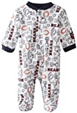 NFL Chicago Bears Boy's Sleep N Play Sleepers, 3-6 Months, Blue at Amazon.com