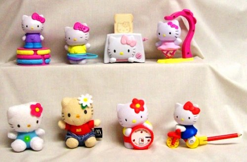 Hello Kitty Mcdonald S Toys : Best price mcdonalds hello kitty happy meal set