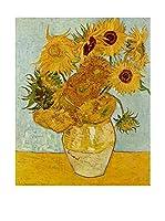 Especial Arte Lienzo Willem Van Gogh Multicolor