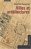 img - for villes et architectures book / textbook / text book
