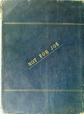Not For Joe: A Political Medley: Pall Mall Gazette