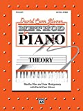 img - for David Carr Glover Method for Piano Theory: Level 4 book / textbook / text book