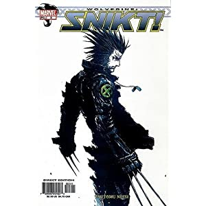 Cover Image for Snikt issue 3 (Wolverine) by Tsutomu Nihei