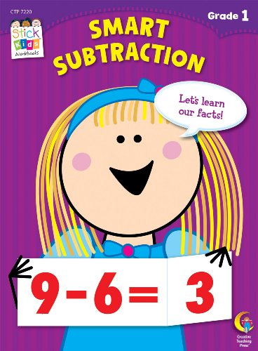 Smart Subtractions Stick Kids Workbook, Grade 1 (Stick Kids Workbooks) (School Smart Student Group Chart compare prices)