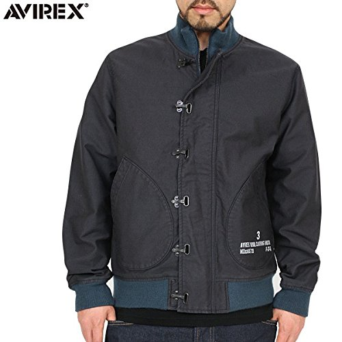 AVIREX アビレックス 6132039 N-10 デッキジャケット NAVY /avj52011310208 (M, NAVY)