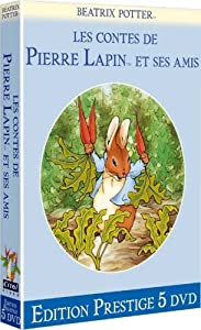 Beatrix potter Les contes de Pierre et Jeannot Lapin - Edition prestige digipack 5 DVD [Édition Prestige]