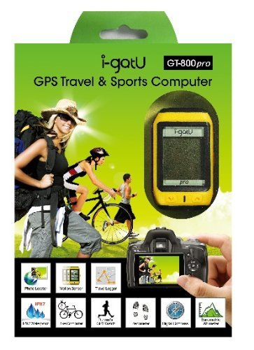 i-gotU GPS Sports & Travel Computer - GT-800 Pro