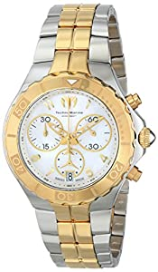 TechnoMarine Women's 714002 Sea Pearl Analog Display Swiss Quartz Silver Watch