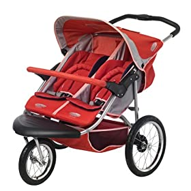 InStep Safari Swivel Double Jogging Stroller