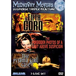 Midnight Movies Vol 13: Suspense Triple Feature (Fifth Cord/Forbidden Photos/Pyjama Girl Case)