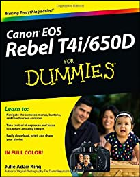 Canon EOS Rebel T4i/650D For Dummies (For Dummies (Computer/Tech))