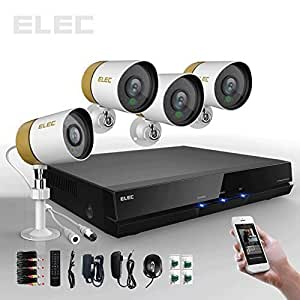 Elec 4 Channel 960H HDMI CCTV DVR