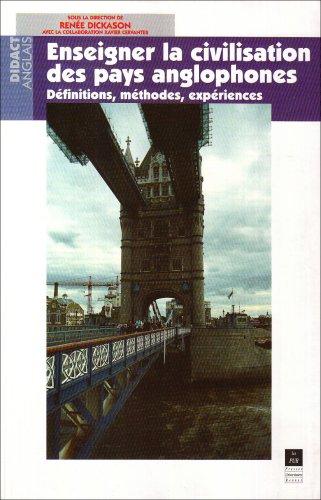 Enseigner la civilisation des pays anglophones: Définitions, méthodes, expériences (Definition Of Pur compare prices)
