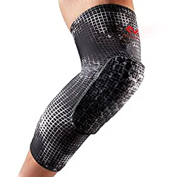 McDavid Pair Hex Leg Sleeves, Large, MGrid
