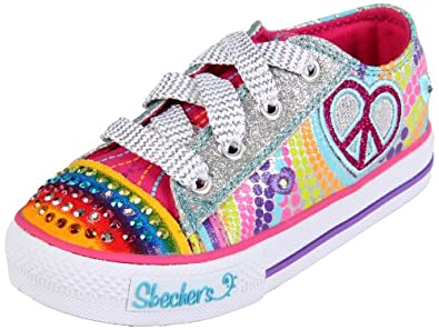 Amazon.com: Skechers Twinkle Toes S Lights Heart Sparks Lighted