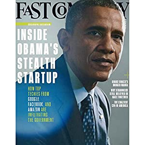 Audible Fast Company, July 2015 Periodical