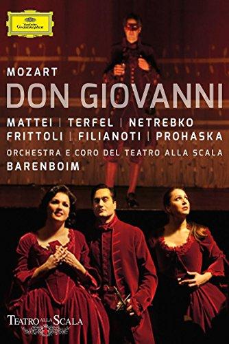 Mozart - Don Giovanni Teatro Alla Scala - Barenboim (2 Dvd)