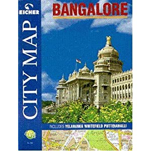 Eicher City Map Bangalore