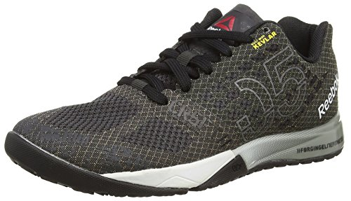 Reebok Crossfit Nano 5.0 Scarpe Sportive, donna, Nero (Black (Coal/Black/White/Tin Grey/Motor Red/Shark)), 40.5