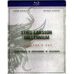 Stieg Larsson Millennium Blu-ray