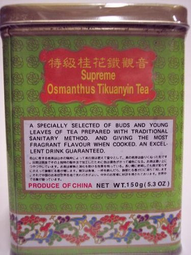 Golden Dragon Supreme Osmanthus Tikuanyin Tea 5.3 Oz