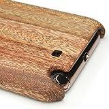 GALAXY Note 2 SC-02Eケースカバー(木製:高級木マホガニー)無料修理保証有り
