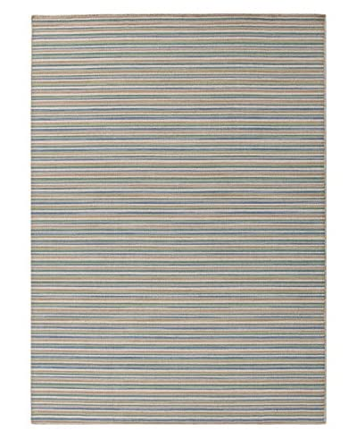 Jaipur Rugs Coastal Living Flat-Weave Striped Wool Rug