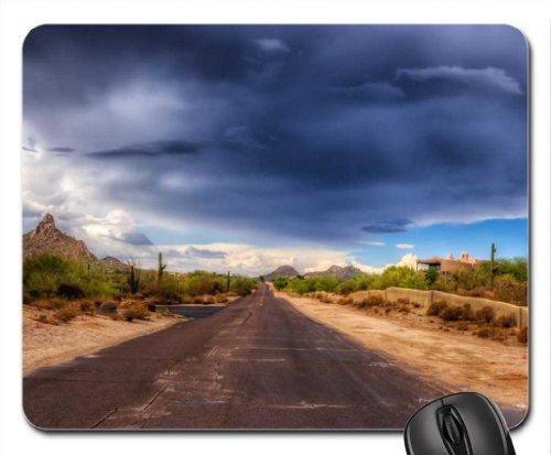wonderful desert adobe house Mouse Pad/Mouse Mat, Mousepad Deserts Mouse Pad/Mouse Mat