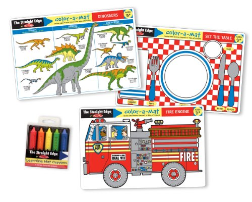 Melissa & Doug Fun Themes Placemat Bundle - 1