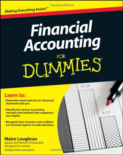 Financial Accounting for Dummies (US Edition) (For Dummies (Lifestyles Paperback))