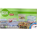 Snapware 1101192 Glasslock Oven Safe 18pc Set