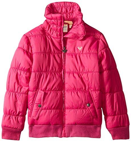 Roxy Big Girls' Avalanche Puffer Jacket, Festival Fuchsia, 8