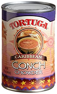Tortuga Caribbean Conch Chowder, 15-Ounce Cans (Pack of 12)