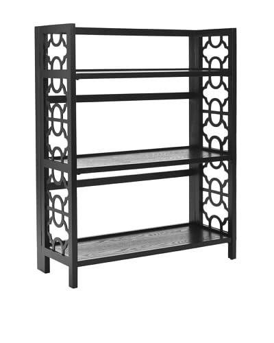 Safavieh Natalie Low Bookcase, Black