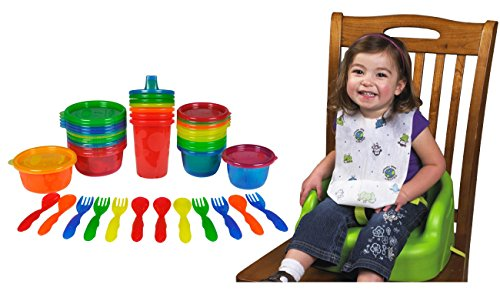 The First Years Take And Toss 28-Piece Feeding Variety Pack With Disposable Bibs