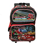 Ruz Disney Cars Lightning McQueen Roller Backpack Bag - Not Machine Specific