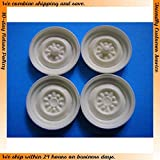 1/25 Wheels x4pcs (Steelie) (Diameter: 17.5mm) /item# G4W8B-48Q6720