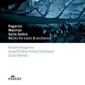 Paganini, Saint-Sa�ns & Waxman : Works for Violin & Orchestra