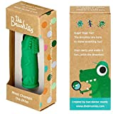 Made in the USA -The Brushies baby and toddler toothbrush - Chomps the Dino!
