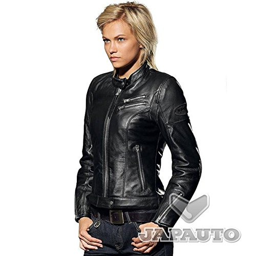 spidi cafe race blouson cuir moto pour femme. Black Bedroom Furniture Sets. Home Design Ideas