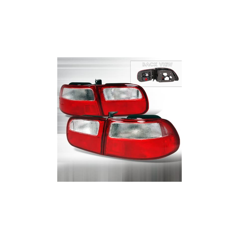 92 95 HONDA CIVIC 3DR RED TAIL LIGHTS