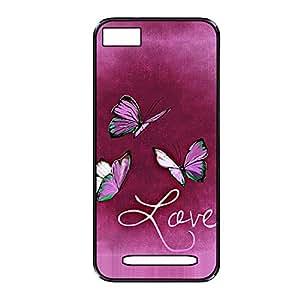 Vibhar printed case back cover for Xiaomi Mi 4i LoveFly