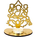 Giftacrossindia Shadow Diya Tealight Candle Holder Of Removable Goddess Lakshmi For Diwali Home Decor Gift Collection