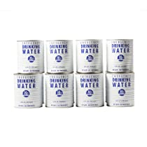 Case of Canned Drinking Water (12 cans)