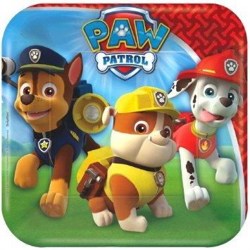 Paw Patrol Dessert Plates - 8 ct - 1