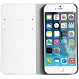"Iphone 6 Cover Case, WAWO PU Leather Wallet Flip Protective Cover for Apple Iphone 6 4.7"" (White) by WAWO"