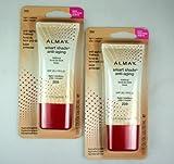 Almay Smart Shade Anti-Aging Makeup #200 Light/ Medium ( 2-Pack ) by Almay